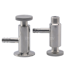 Sanitary SS Male Threading Sampling Valve