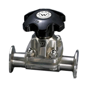 Stainless Steel Gemu Straight Way Diaphragm Valve