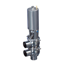 Sanitary SS Pneumatic Actuated Divert Valve