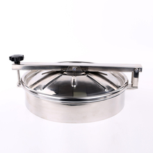 China Sanitary Stainless Steel Round Non Pressure Manhole Cover